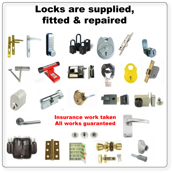 locksmith service, chubb, yale, union locks, dead locks, Window locks, sash locks and much more.
